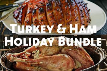 Small Turkey & Ham Holiday Bundle