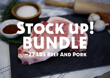 Stock Up! Beef & Pork Bundle
