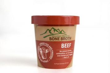 Pasture Raised Beef Bone Broth