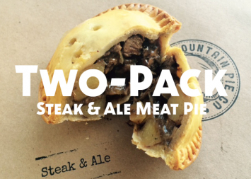Two-Pack Steak and Ale Meat Pie