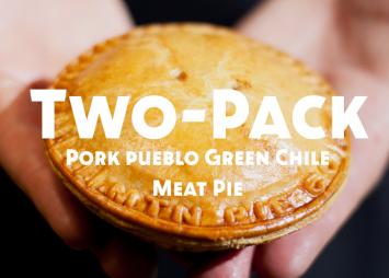 Two-Pack Pork Pueblo Green Chile Meat Pie