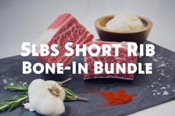 5lbs Bundle - Short Ribs, Bone-In
