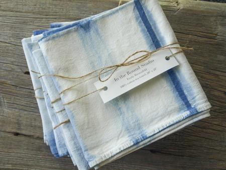 Indigo Tea Towel
