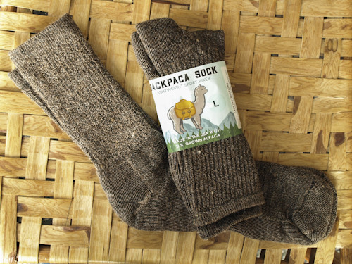 Alpaca Socks - hiker, medium