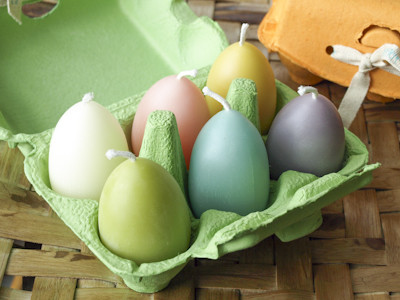 Egg Candles (6)
