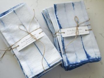 Indigo napkin set