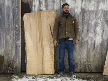 Large Sugar Maple Slab