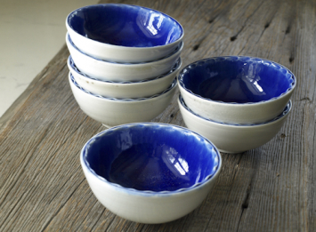 Porcelain Ice Cream Bowls
