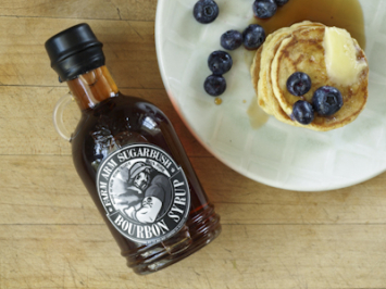 Bourbon Infused Syrup