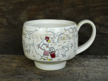 "Chicken Cup - ""Shepherdess"""