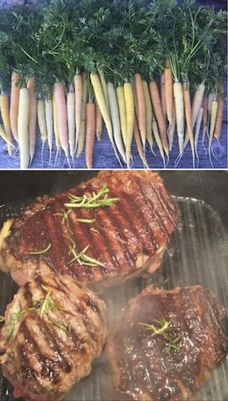 Cascade Brook 2018/2019 Winter CSA - Grass Fed Angus Beef and Veggies