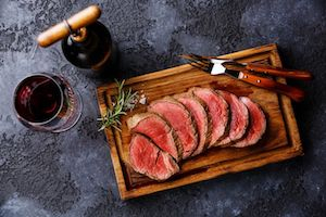 Beef Tenderloin Roast - Grass Fed Pure Black Angus