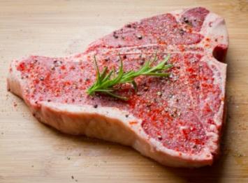 T-Bone Steak - Grass Fed Pure Black Angus