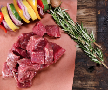 Beef Stew Meat - Grass Fed Pure Black Angus