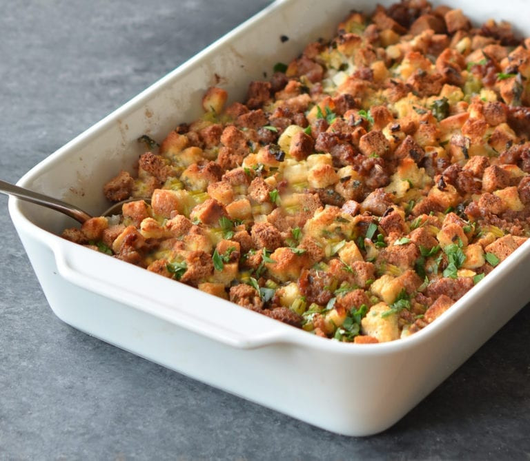 Easy Sausage & Herb Stuffing