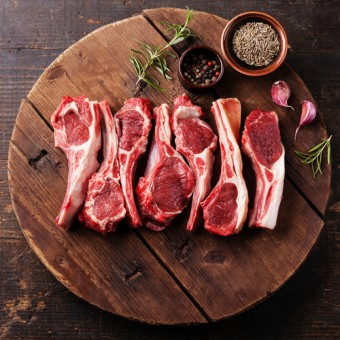 2 Pack- Lamb Rib Chops