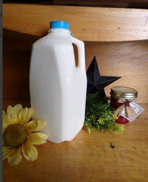 Goat Milk: 1/2 gallon