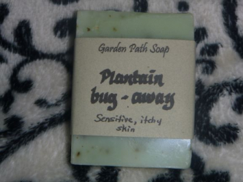Plantain Bug-Away Bar Soap
