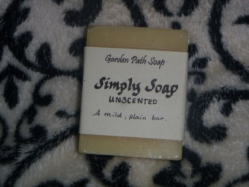 Simply Unscented Soap: Bar