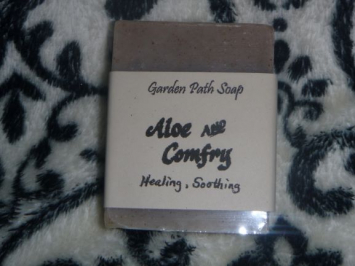 Aloe and Comfrey Bar Soap