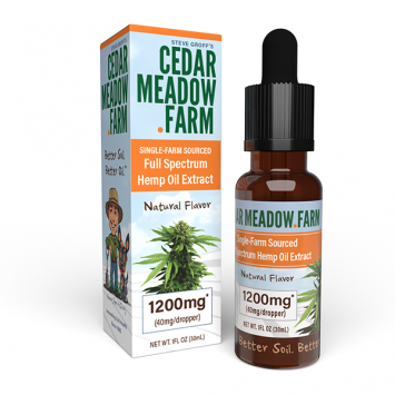 Natural Flavor - Hemp Extract 1200mg