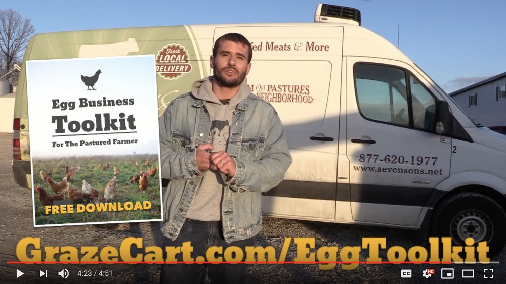 How We Sell 200,00 Doz Pastured Eggs (Seven Sons Farms)
