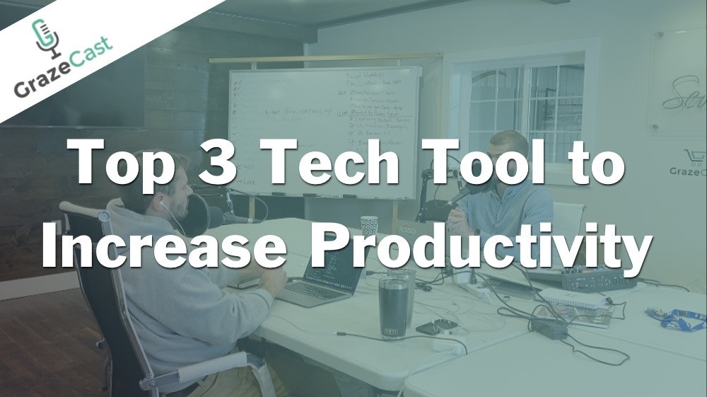 Top 3 Tech Tools to Boost Productivity