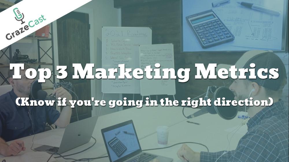 Top 3 Marketing Metrics