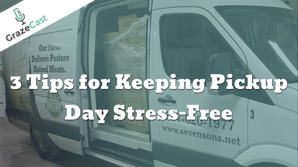 Three Tips for Keeping Pickup Day Stress-Free