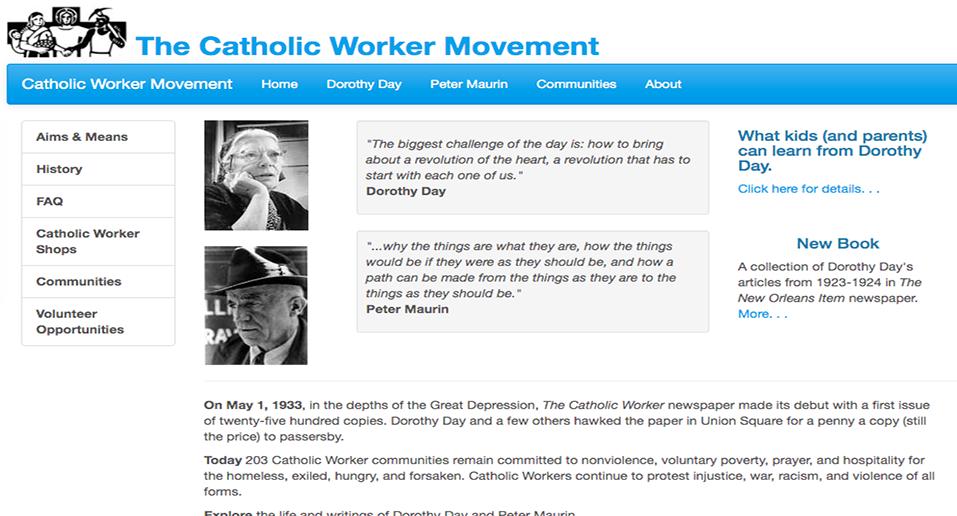 Catholic Worker Movement