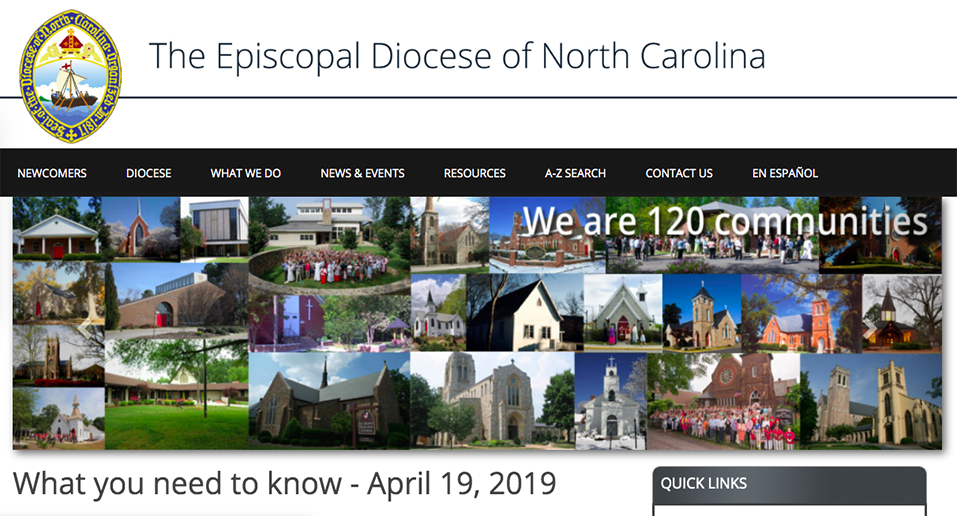 The Episcopal Diocese of North Carolina