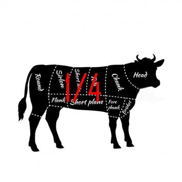 1/4 Beef Bulk