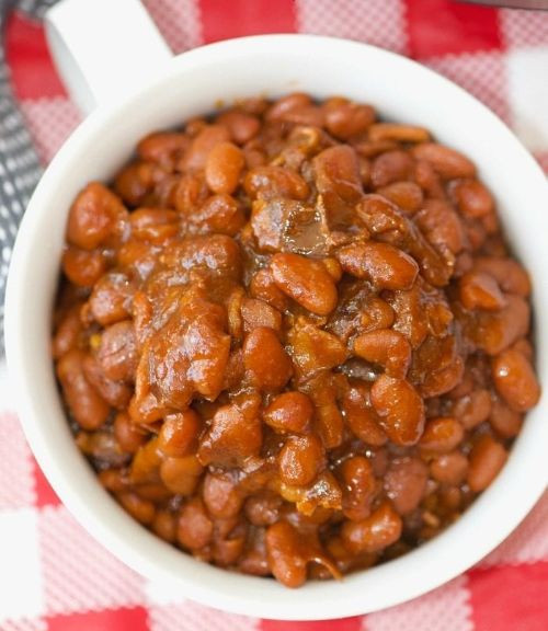 Baked Beans with Chorizo and Bacon