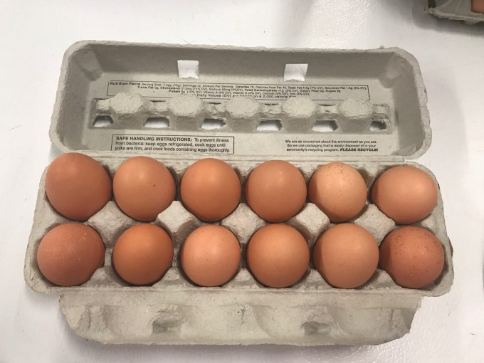 Large eggs - dozen
