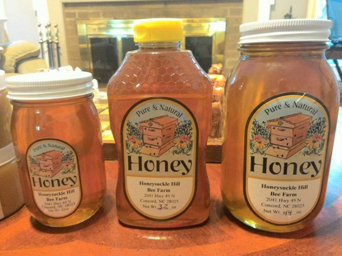 Local Honey - 44 oz glass jar
