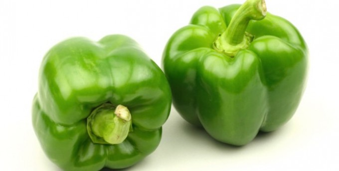 Green Bell Peppers - Rowland Row Farms