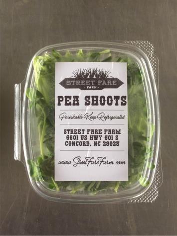 Micro Greens - Pea Shoots