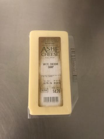 Cheddar Cheese (white) - Sharp
