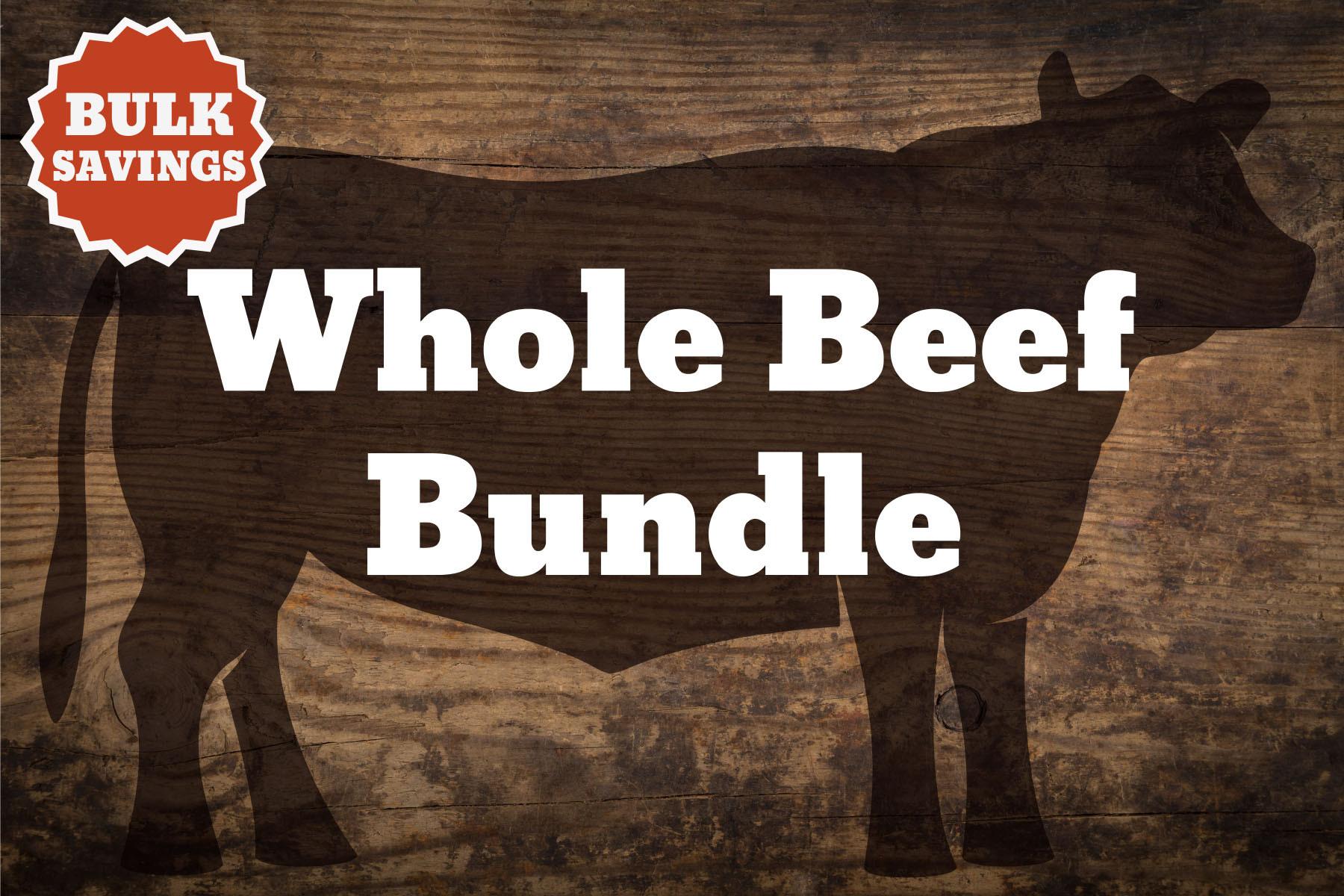 1 Whole Beef Bundle