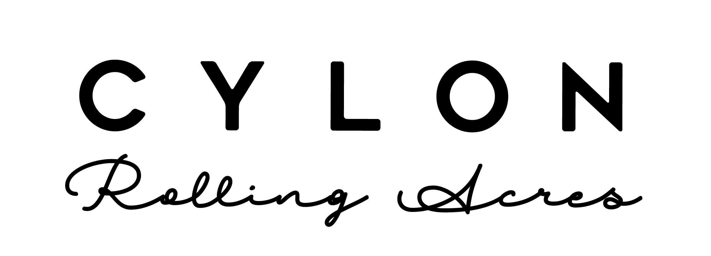 Cylon Rolling Acres Logo