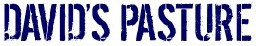 David's Pasture Logo