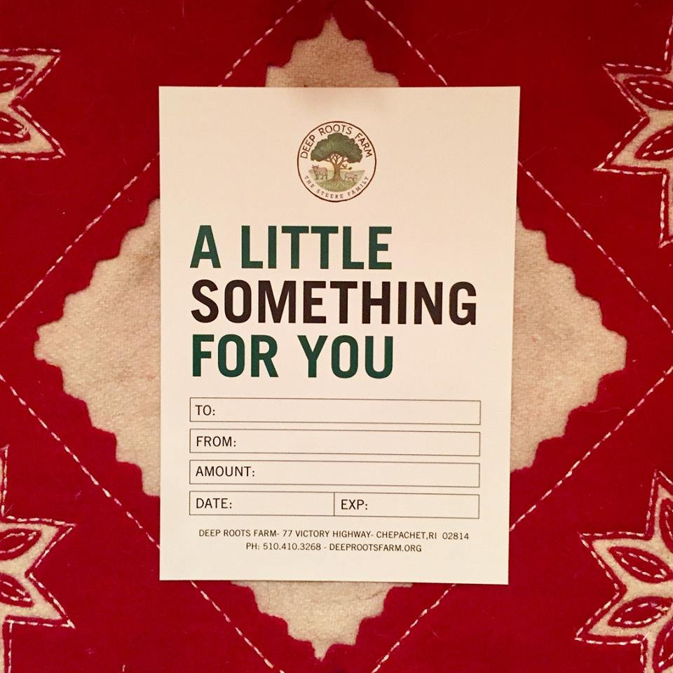 Deep Roots Gift Card- $25