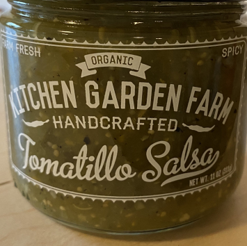 Kitchen Garden Farm Tomatillo Salsa