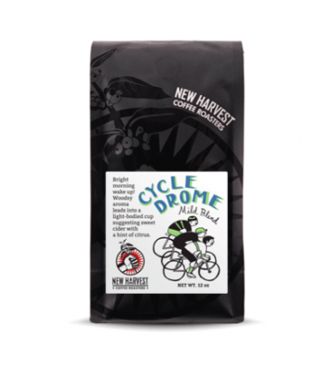 New Harvest Coffee- Cycledrome Mild Blend