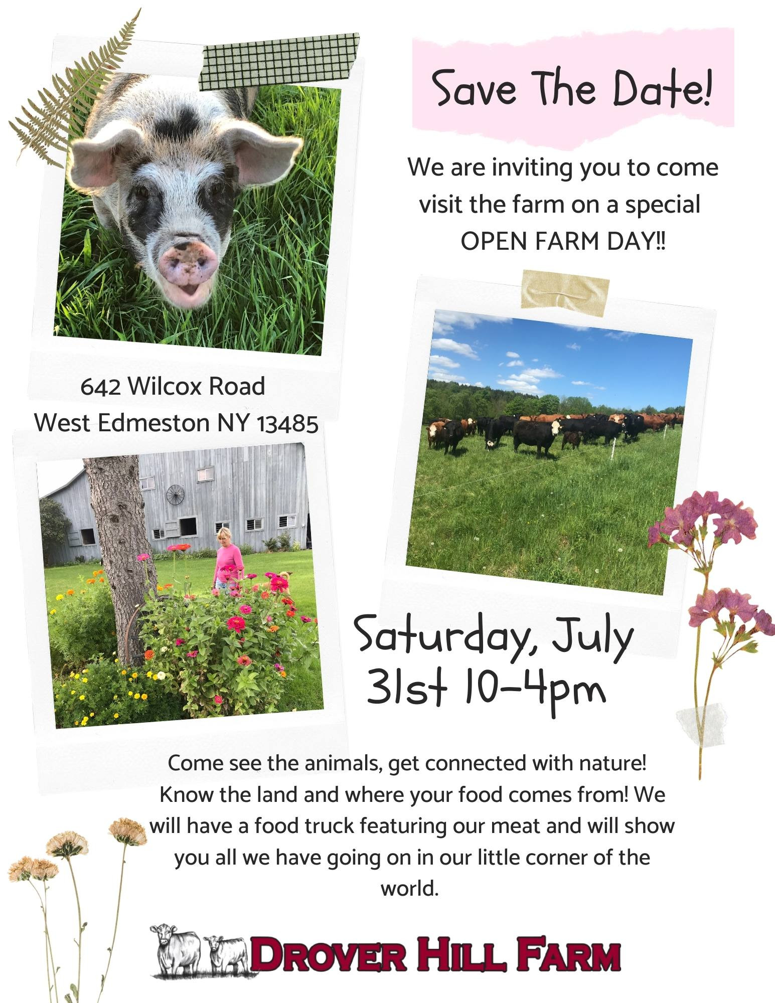 Save the Date- Open Farm Day!