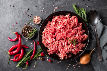 (1) Five-Pound Ground Beef Chuck
