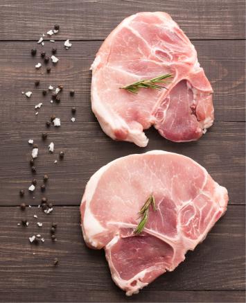 Pork Chops, Center-Cut