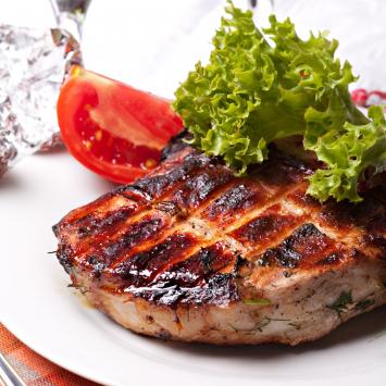 Pork Smoked Ham Steak