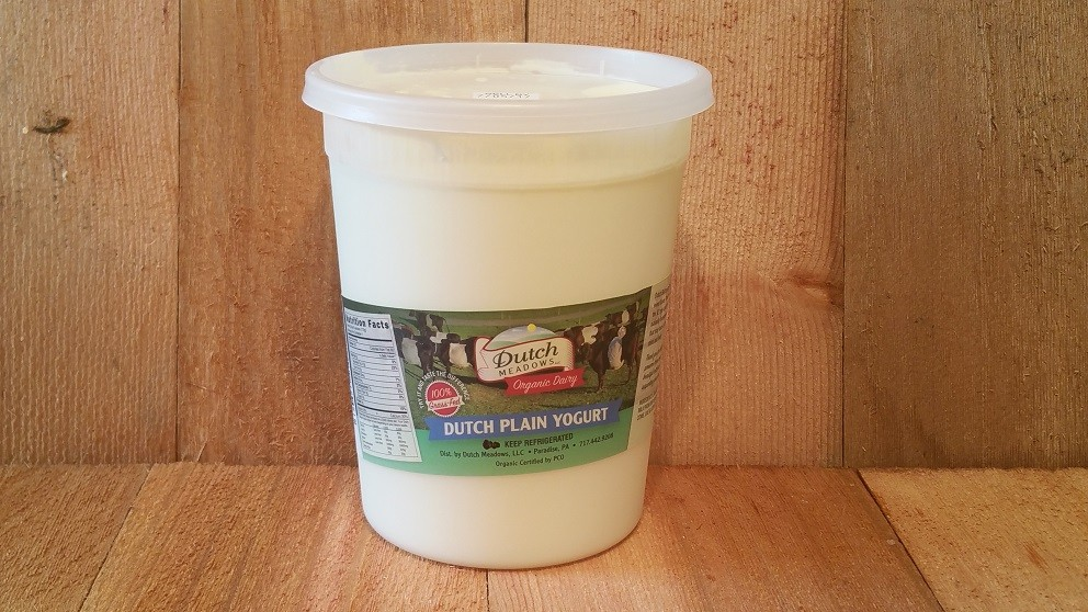 Quart Plain Yogurt (Pasteurized)