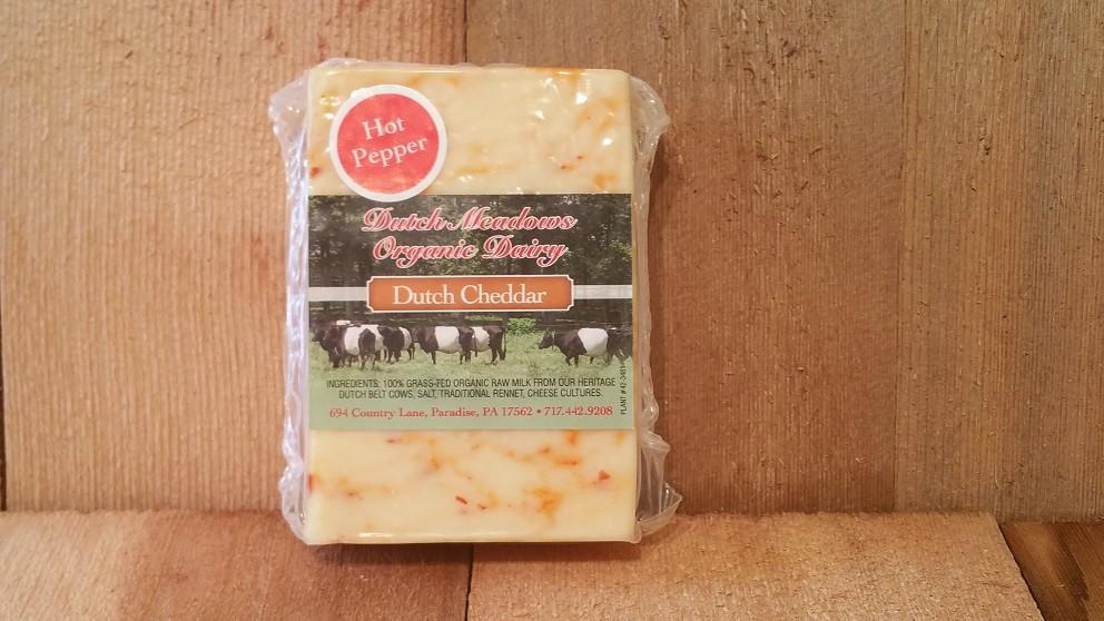 8 oz Hot Cheddar Cheese